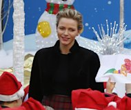 Princess Charlene Cheers up Children at Christmas Tree Ceremony in Monaco [PHOTOS]