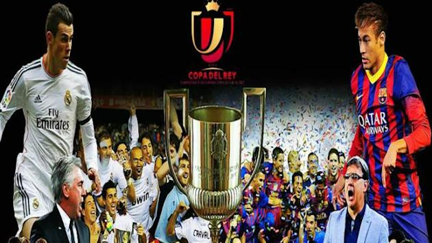 Final Copa del Rey Real Madrid vs Barcelona: Daftar Susunan Pemain