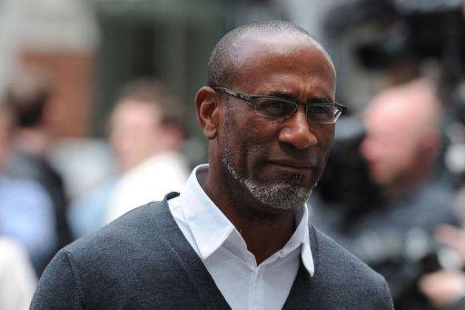 Julian Ferdinand, the father of Anton Ferdinand, arrives at Westminster Magistrates court