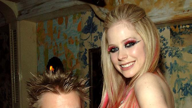 Deryck Whibley and Avril Lavigne