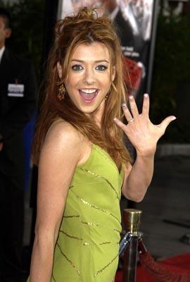 Premiere: Alyson Hannigan at the LA premiere of Universal's American Wedding - 7/24/2003