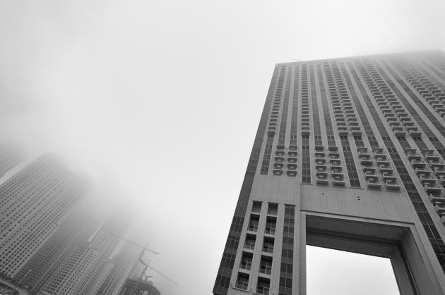 A foggy day in the UAE. Image for illustrative purposes only.