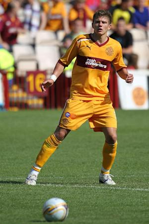 Motherwell have rejected a bid for Shaun Hutchinson