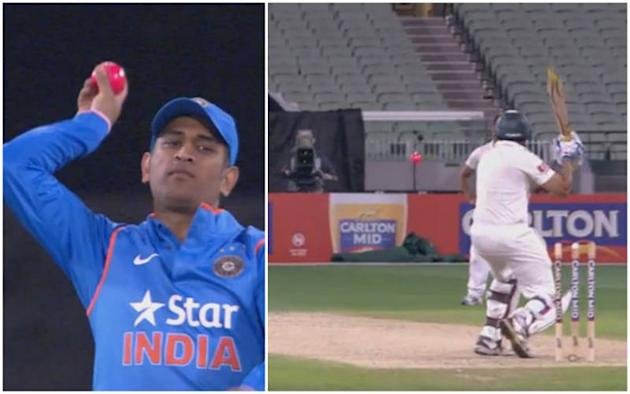 India's role in approving Day/Night Tests – MS Dhoni bowls with pink cricket ball