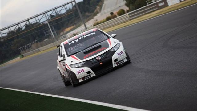 WTCC - Honda take to track for testing