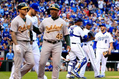Say hey, baseball: The Royals and the A's have started baseball's newest rivalry