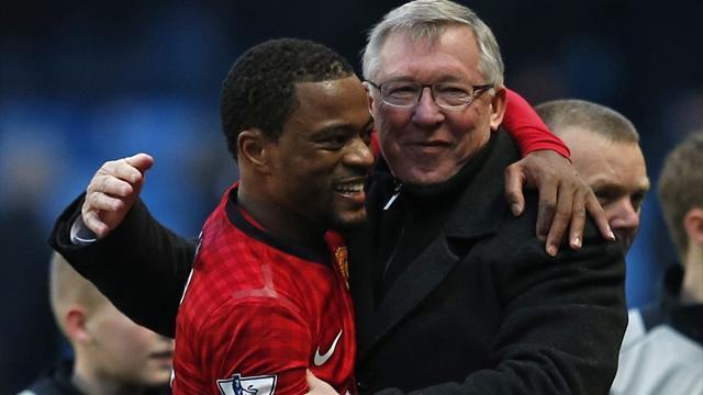 Premier League - Evra: PSG? Over Fergie's dead body