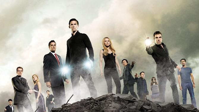 The cast of Heroes.