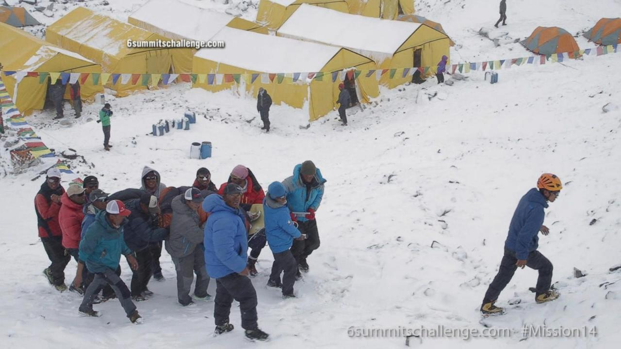 Nepal earthquake: Videos capture avalanche, aftershocks and aftermath