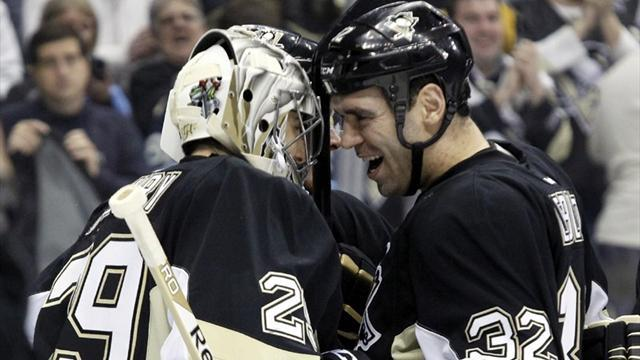 Ice Hockey - Penguins make history with win over Capitals