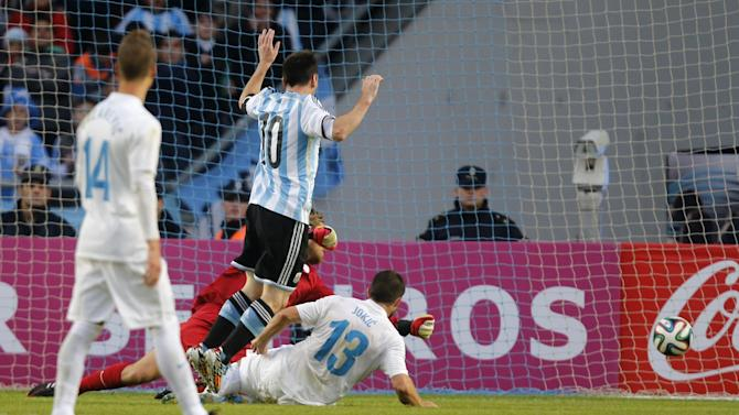 International friendlies - Messi comes off the bench to help Argentina to win