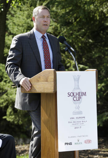 LPGA Tour extends Commissioner Mike Whan's contract