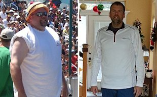 Lonnie St. John lost one third of his body weight, then won his age group at the 2013 Vancouver USA Half-Marathon
