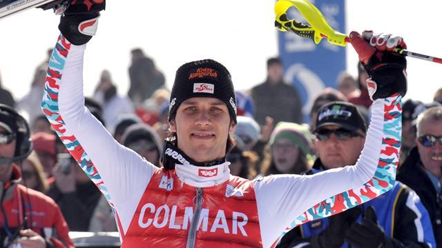 Alpine Skiing - Matt enters record books after Val D'Isere slalom win