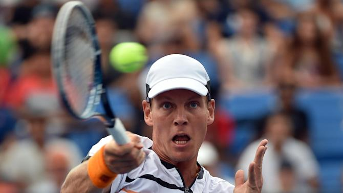 US Open men - Dominant Berdych crushes Austria's Thiem
