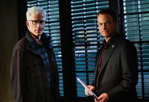 Ted Danson, Gary Sinise | Photo Credits: Cliff Lipson/CBS