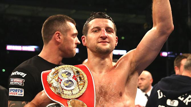 Boxing - Carl Froch vacates IBF super middleweight title