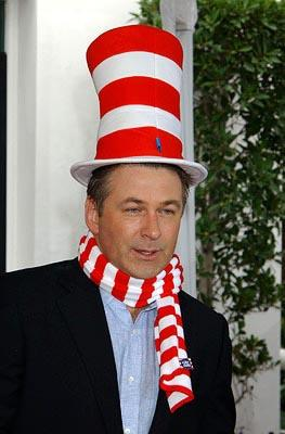 Alec Baldwin at the LA premiere of Universal's Dr. Seuss' The Cat in the Hat