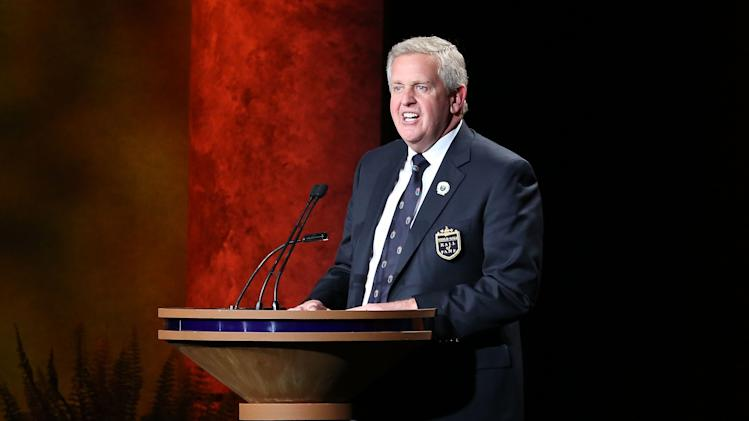 World Golf Hall of Fame Induction