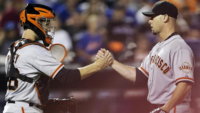 Vogelsong stifles Mets in Giants' 5-1 win