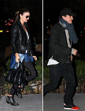 Miranda Kerr, Orlando Bloom Head Back to Same Apartment After Split: Pictures