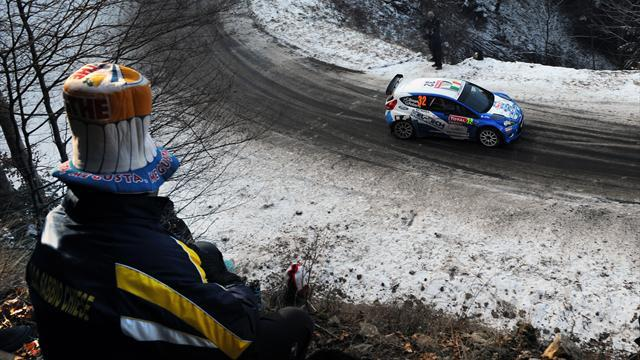 ERC - Ireland's Breen into early lead in Latvia