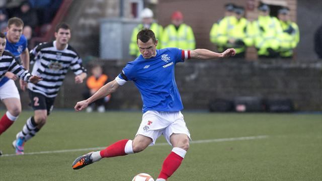 Scottish Football - Rangers stumble to victory at Elgin