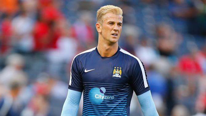 Premier League - Pellegrini warns Hart that starting place not guaranteed