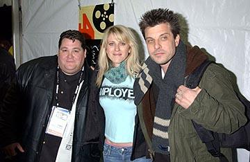 "Jay Leggett, Andrea Bendewald and Mitch Rouse ""Employee of the Month"" - 1/16/2004 Sundance Film Festival"