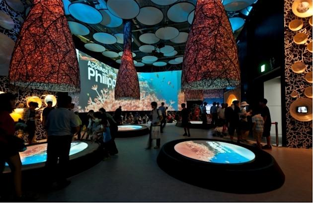 The Philippine exhibit in the recently concluded Expo 2012 in South Korea featured the country's famous beaches. (Photo courtesy of the Department of Tourism)