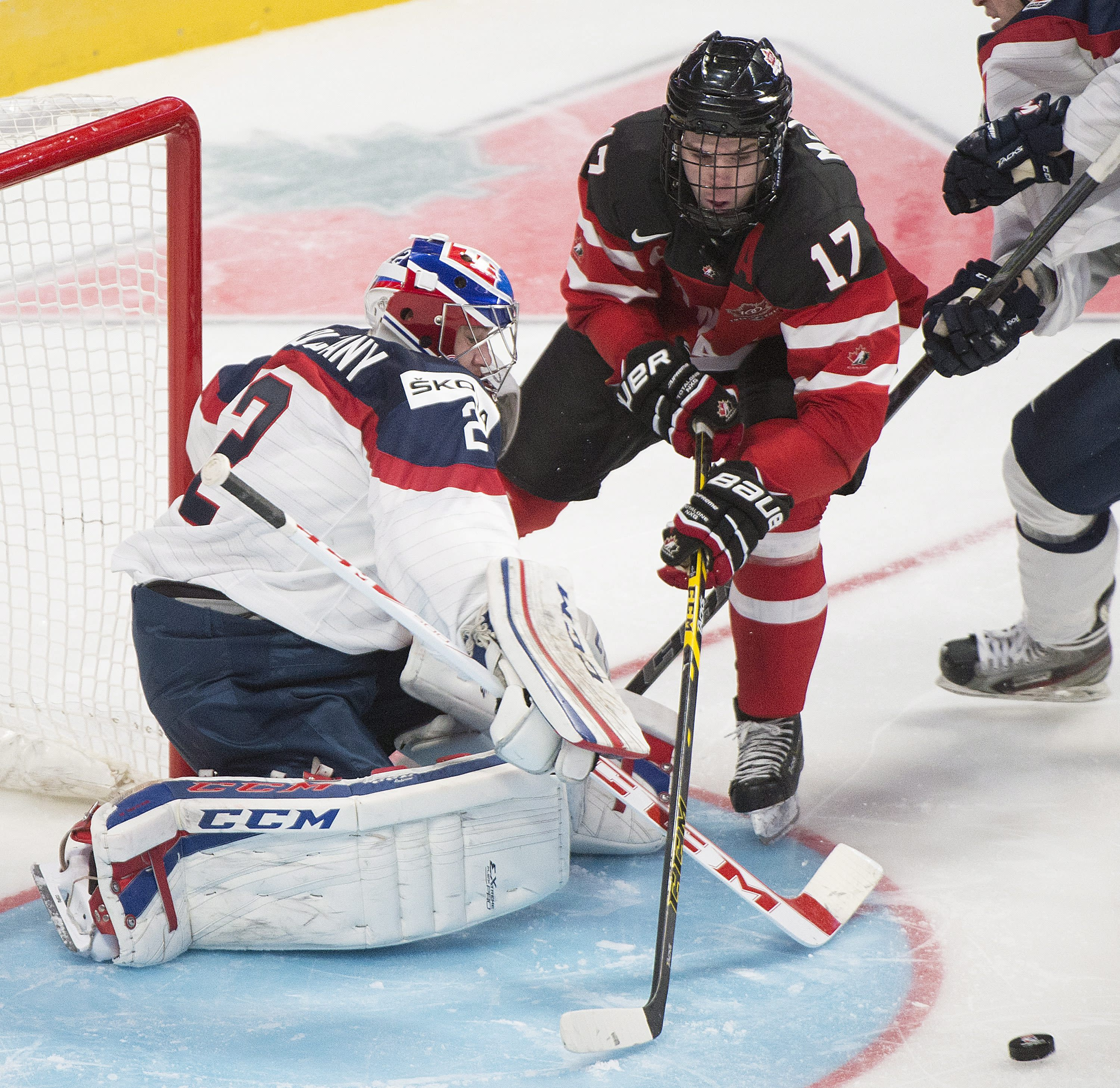 Canada beats Germany 4-0 in world junior hockey