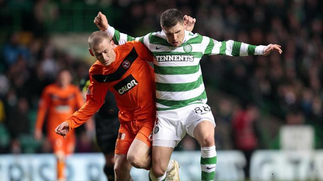 Dundee United beat champions Celtic