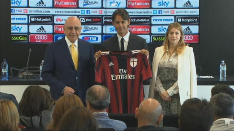 World Cup - Inzaghi on taking over as new Milan coach