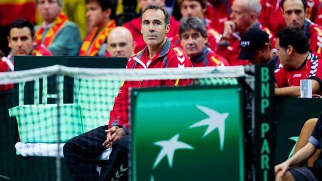 Tennis - Spain opt against renewing Corretja's Davis Cup contract