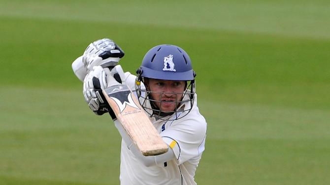 Ian Westwood hit a century for Warwickshire at Uxbridge