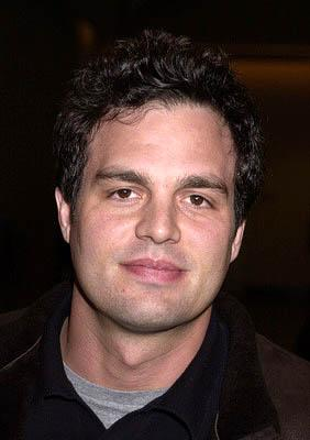 Premiere: Mark Ruffalo at the Hollywood premiere for The Dancer Upstairs - 1/24/2002
