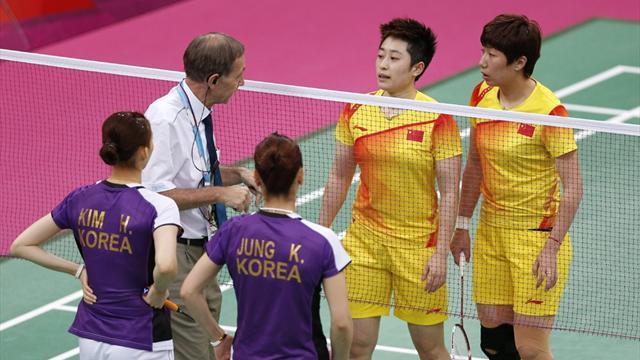Olympic Games - Eight Olympic badminton players disqualified
