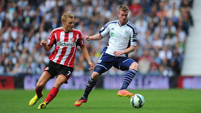 Premier League - Larsson earns Sunderland point at West Brom