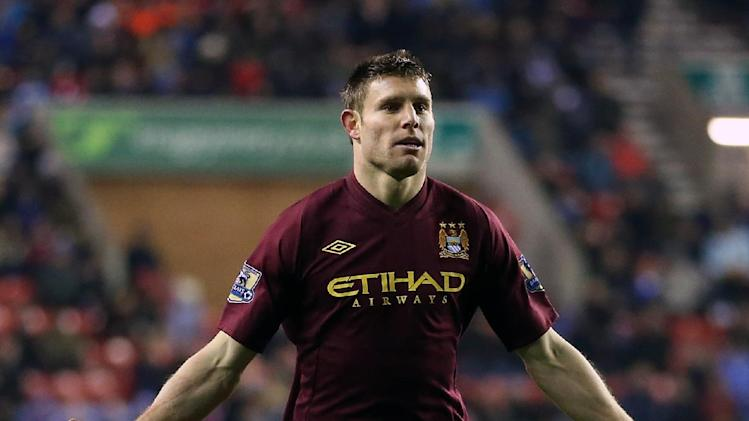 James Milner could be facing a spell out with a hamsring injury