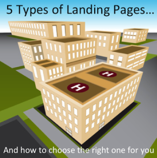 5 Different Types of Landing Pages (and How to Choose the Right One) image landing page types