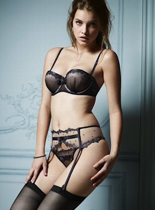 This set of Victoria's Secret designer lingerie costs $264.