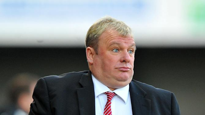 Steve Evans has received a stadium ban for his behaviour while manager of Crawley