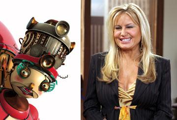 "Jennifer Coolidge provides the voice of ""Aunt Fanny"" in 20th Century Fox's Robots"