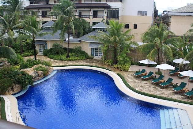View from the new suite rooms in Boracay Garden resort