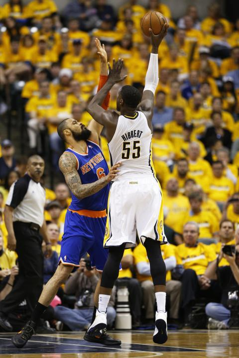 New York Knicks v Indiana Pacers - Game Three