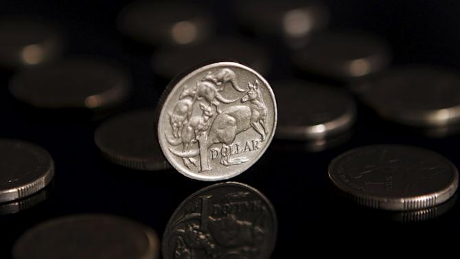 File illustration photo of a one Australian dollar coin in Sydney