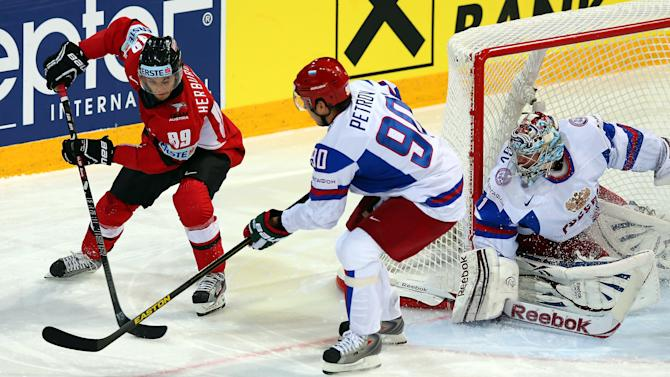 Austria v Russia - 2013 IIHF Ice Hockey World Championship