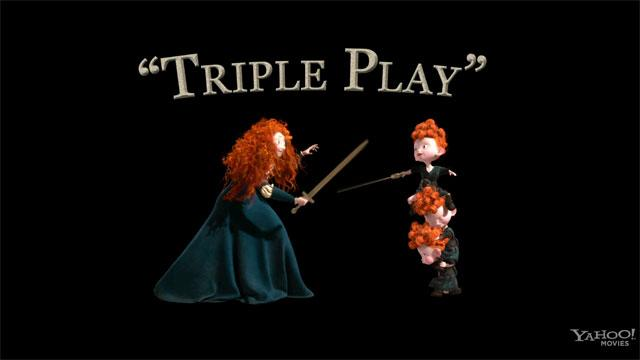 'Brave' Clip: Triple Play