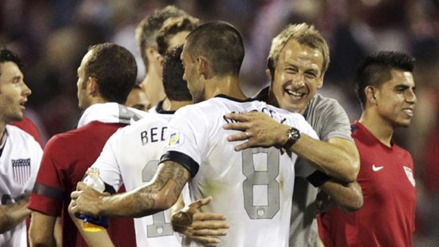 World Cup - US, Costa Rica qualify for 2014 World Cup finals