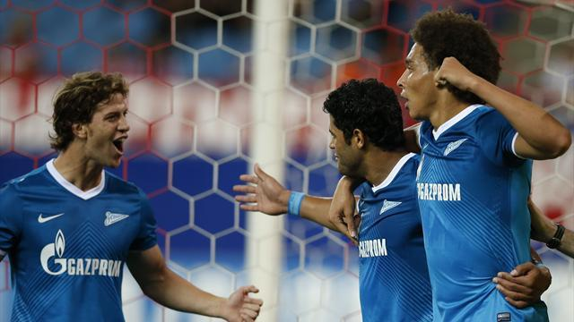 Champions League - Zenit duo to miss Atletico Madrid match